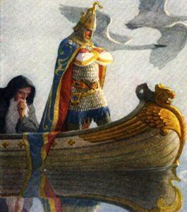 La historia del Rey Arturo y el Medio Hombre