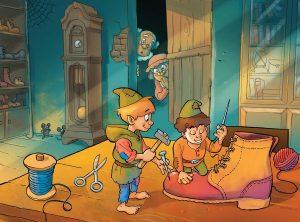 Los elfos y el zapatero 2