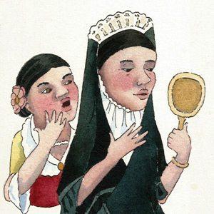 Susu y el espejo mágico
